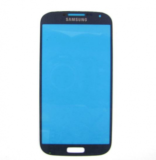 Стекло сенсора экрана Samsung i9500 blue Galaxy S4 / i9505 copy