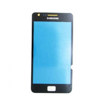 Стекло сенсора экрана Samsung i9100 black Galaxy S2 copy