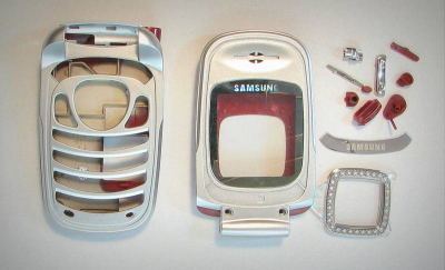 Корпус Samsung T500 red original