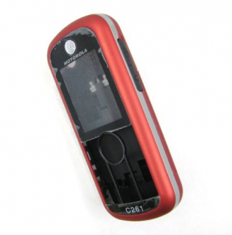 Корпус Motorola C261 red original