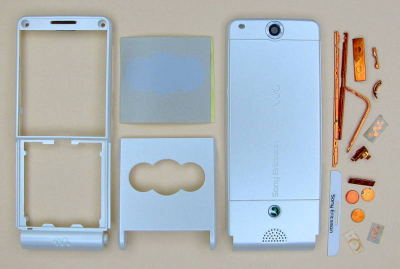 Корпус Sony Ericsson W350i white high copy