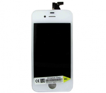 Дисплей Apple iPhone 4G + сенсор white
